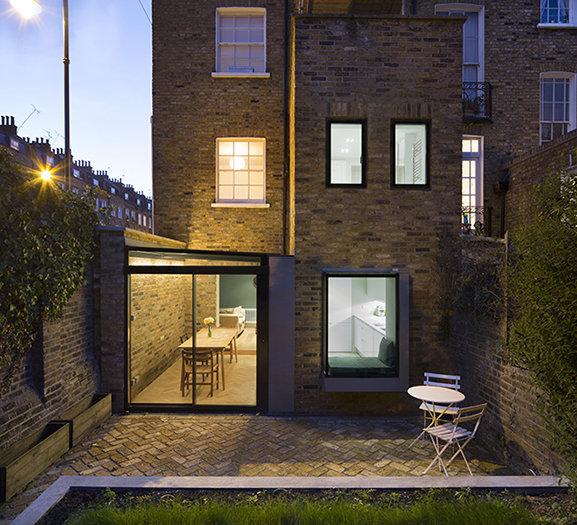 House extensions archives slim frame sliding glass doors for Terrace extension