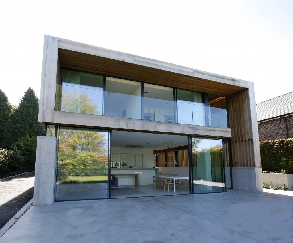 Architectural glass doors archives slim frame sliding for Floor to ceiling glass