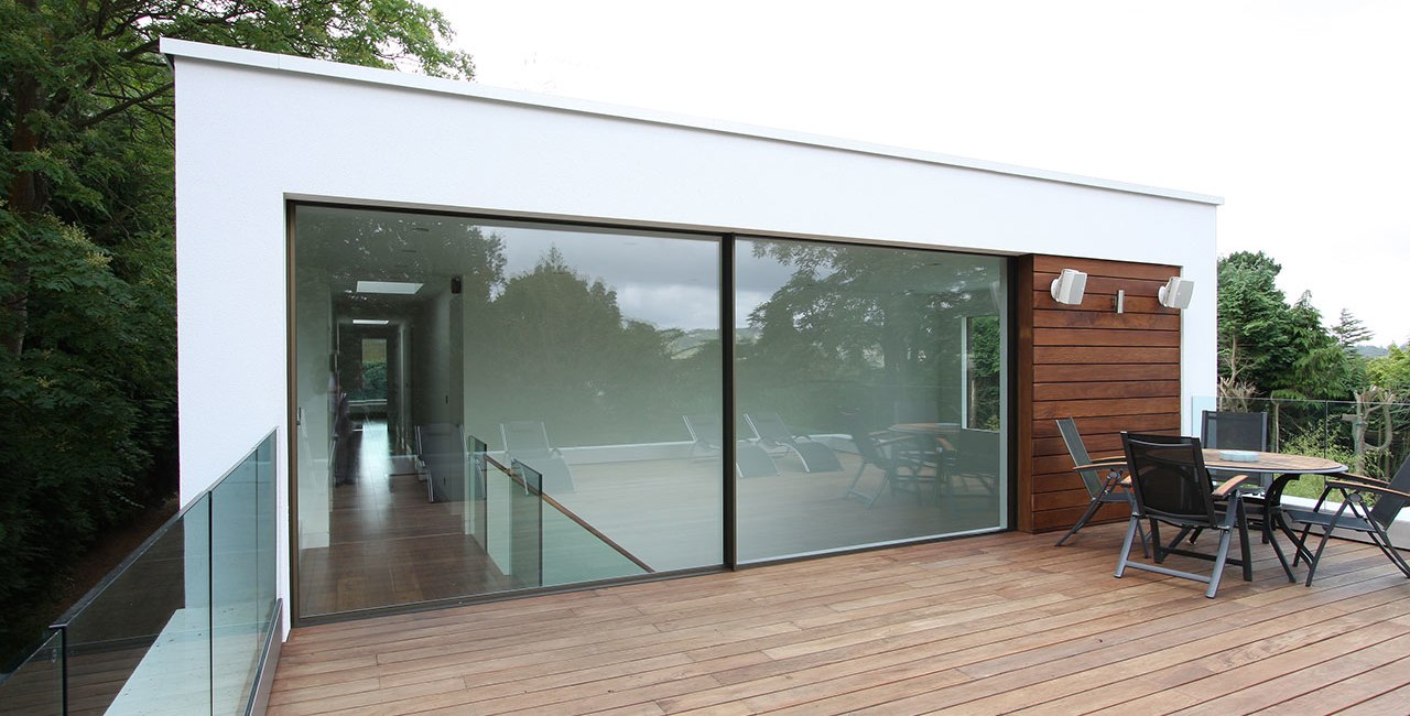 White Lodge Contemporary New Build Oxted Roof Terrace