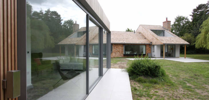 The Colt Double Hieght Extension and Garden Room