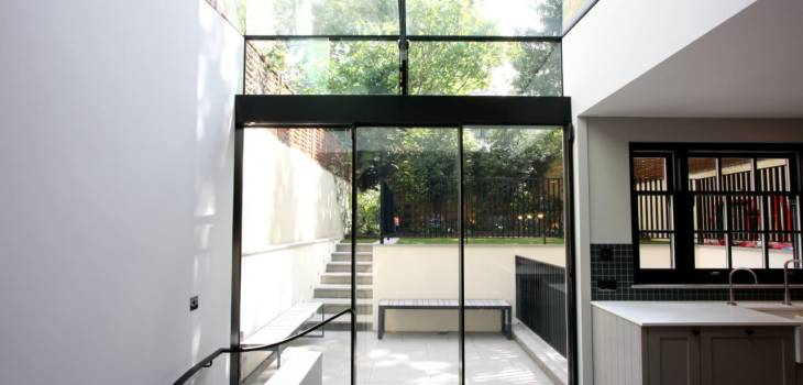 Case Study: Warwick Gardens- Glass Extensions