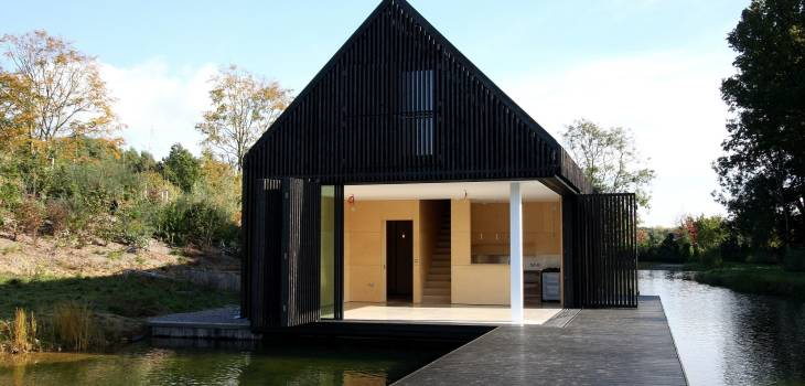 Minimal Sliding Doors The Boathouse