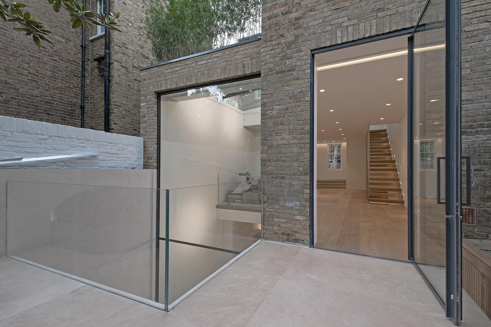 keller minimal pivoting window in london extension