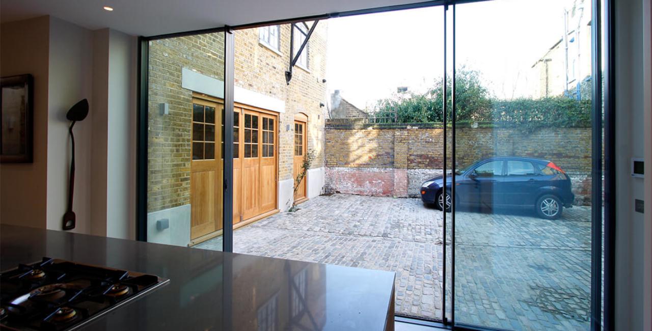 Grange House Slim Frame Sliding Glass Doors Minimal