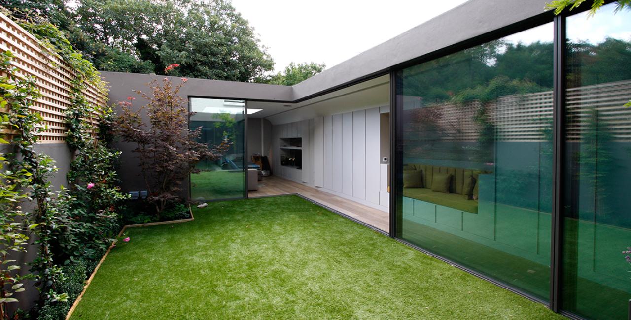 open corner sliding glass doors