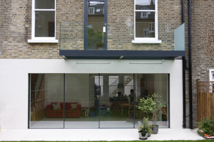 minimal windows Sliding Glass Doors featured in Willow Road.