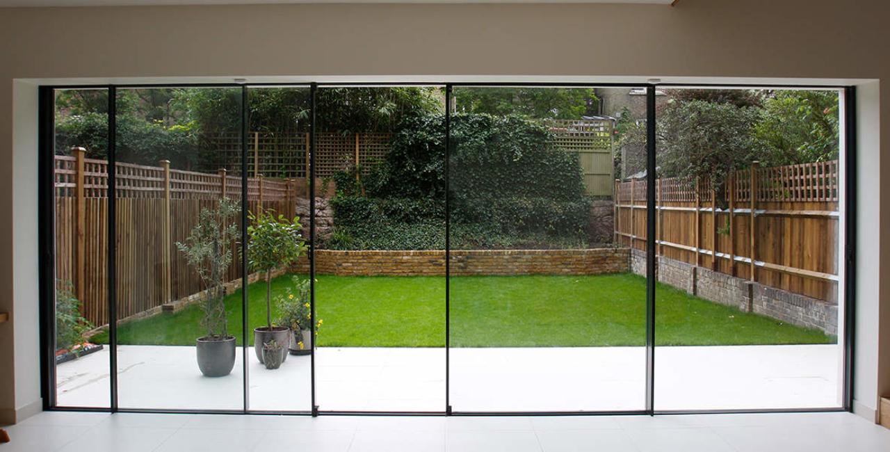 Willow Road Slim Frame Sliding Glass Doors Minimal Windows