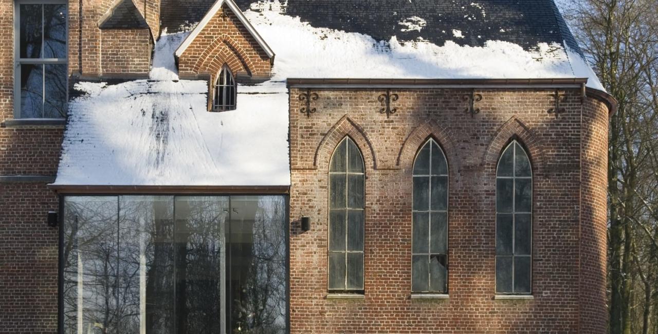 minimal sliding doors The Church