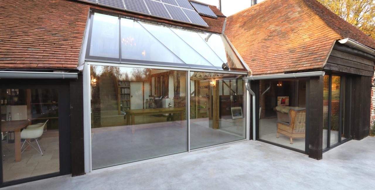 brook barn sliding glass doors