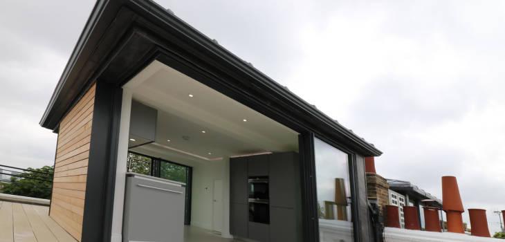 open corner strikingly thin sliding glass doors