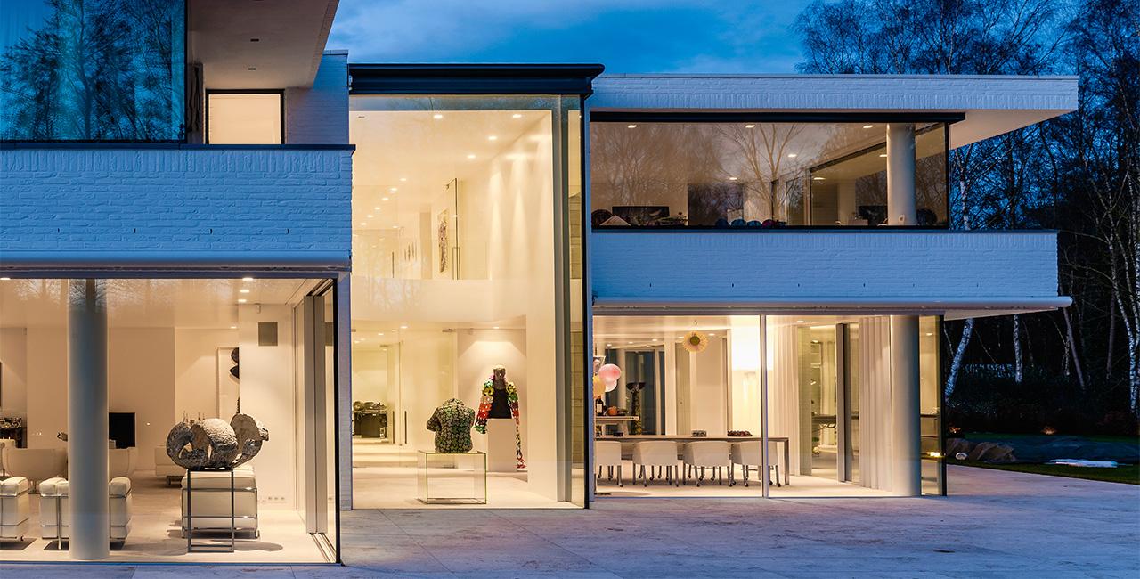 Contemporary Sliding Glass Doors minimal windows