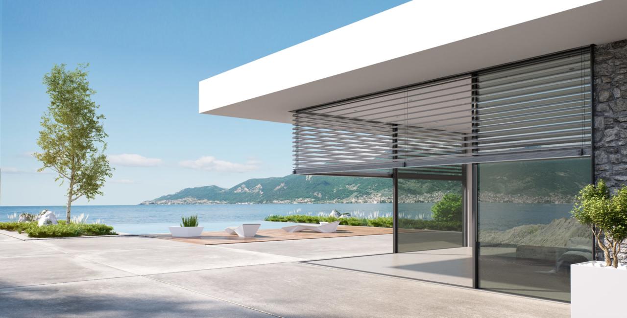 minimal windows external shade system