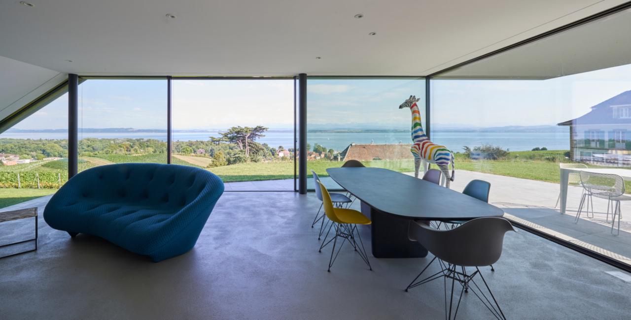 internal view through keller minimal windows