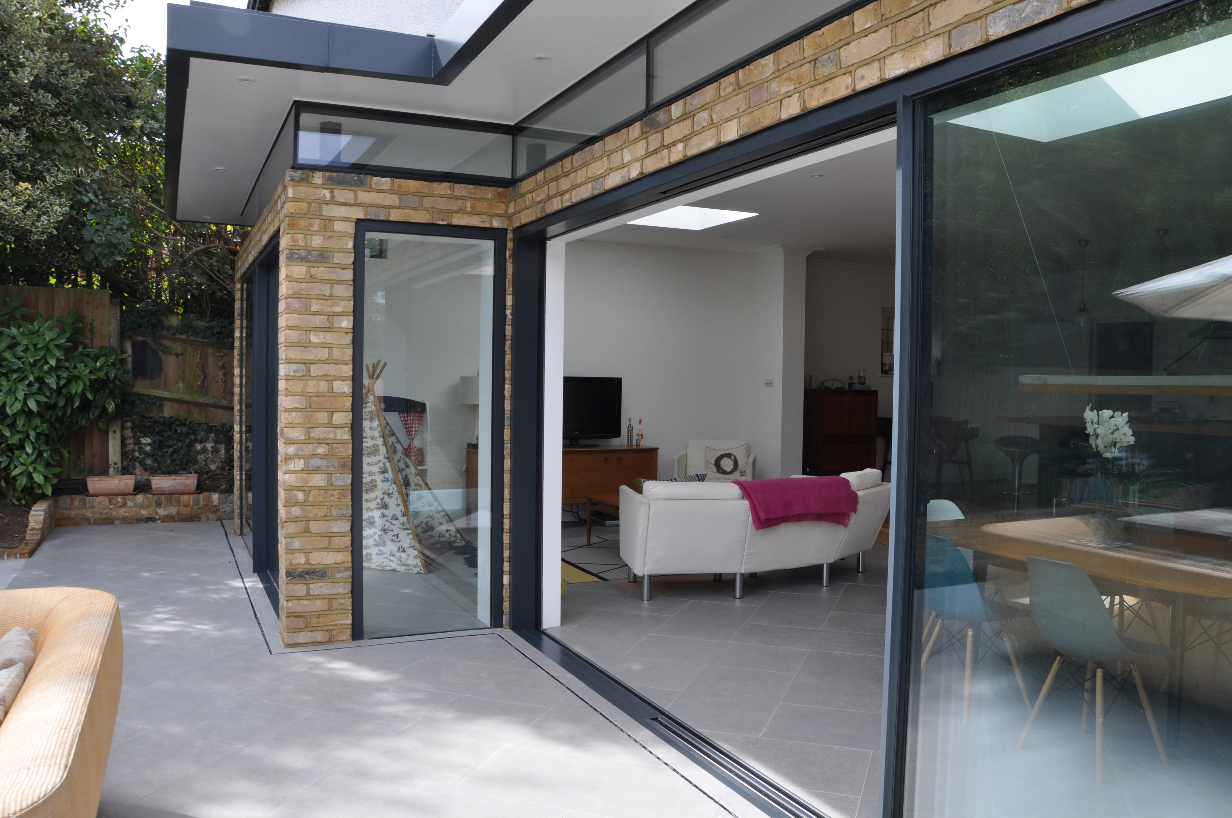 Glazed Extension at Primrose Cottage