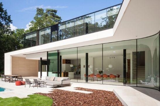 minimal windows motorised slim sliding glass doors