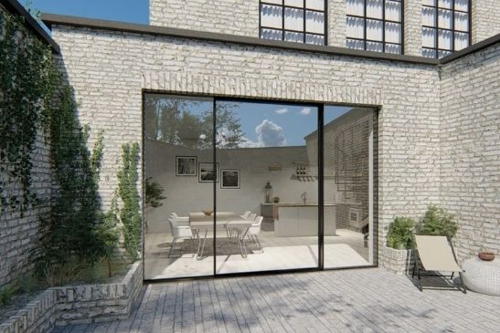minimal windows new and improved large glass pivot door with high security