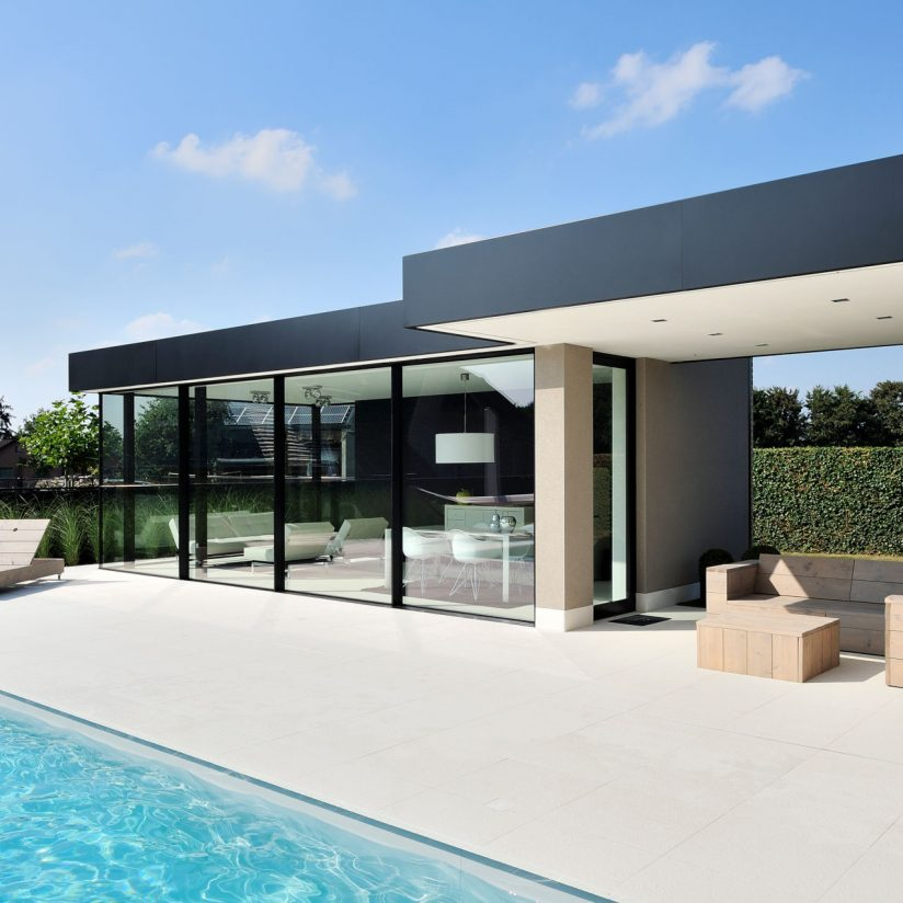 slim-framed-sliding-glass-doors-pool-house